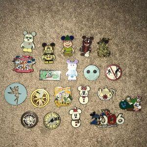 Disney pin lot